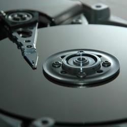 Imagen de un disco duro por dentro