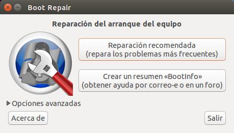 Herramienta Boot-Repair