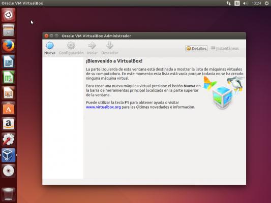 Ubuntu de pruebas - VirtualBox -1
