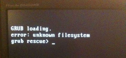 Error en GRUB2 al actualizar a Ubuntu 14.04