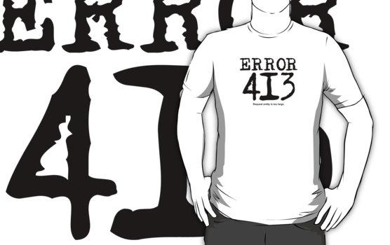 error html 413