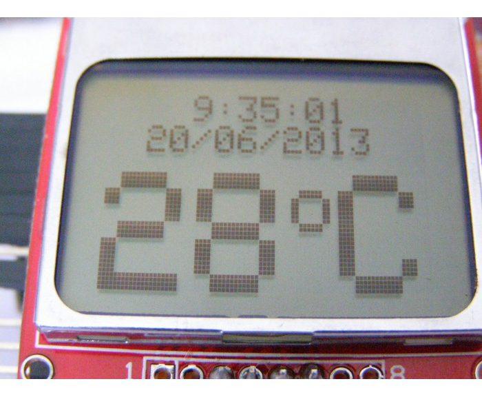 pantalla nokia 5110 LCD